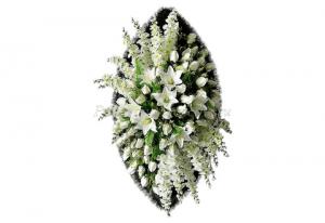 Ritualnii-venok-iz-iskusstvennih-cvetov-120-sm-Elit-№8