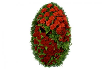 Ritualnii-venok-iz-iskusstvennih-cvetov-120-sm-Elit-№9