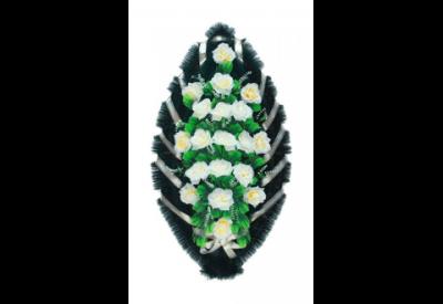 Ritualnii-venok-iz-iskusstvennih-cvetov-120-sm-standart-№5