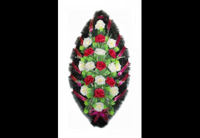 Ritualnii-venok-iz-iskusstvennih-cvetov-120-sm-standart-№8