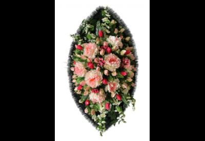 Ritualnii-venok-iz-iskusstvennih-cvetov-120-sm-Elit-№11