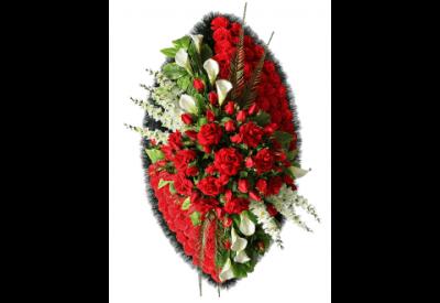 Ritualnii-venok-iz-iskusstvennih-cvetov-120-sm-Elit-№15