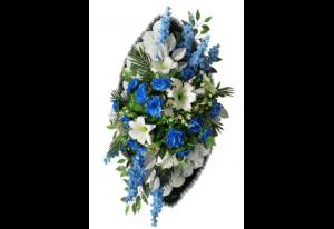 Ritualnii-venok-iz-iskusstvennih-cvetov-120-sm-Elit-№17