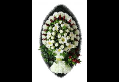 Ritualnii-venok-iz-iskusstvennih-cvetov-120-sm-Elit-№18