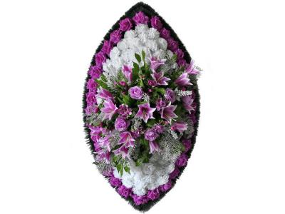 Ritualnii-venok-iz-iskusstvennih-cvetov-120-sm-Elit-№19