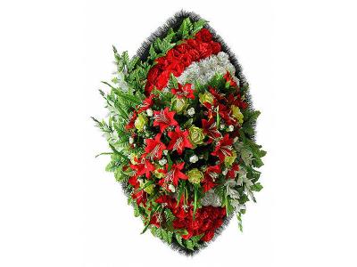 Ritualnii-venok-iz-iskusstvennih-cvetov-120-sm-Elit-№21