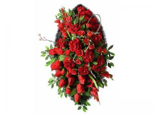 Ritualnii-venok-iz-iskusstvennih-cvetov-120-sm-Elit-№24