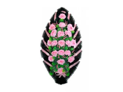 Ritualnii-venok-iz-iskusstvennih-cvetov-120-sm-standart-№10