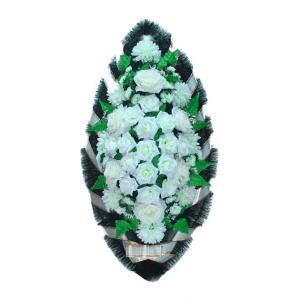 Ritualnii-venok-iz-iskusstvennih-cvetov-120-sm-standart-№14