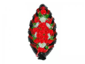 Ritualnii-venok-iz-iskusstvennih-cvetov-120-sm-standart-№15