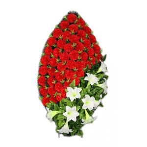 Ritualnii-venok-iz-iskusstvennih-cvetov-120-sm-standart-№16