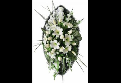 Ritualnii-venok-iz-iskusstvennih-cvetov-140-sm-Elit-№10