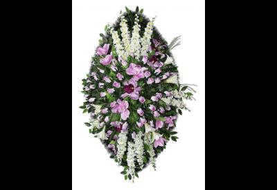 Ritualnii-venok-iz-iskusstvennih-cvetov-140-sm-Elit-№13