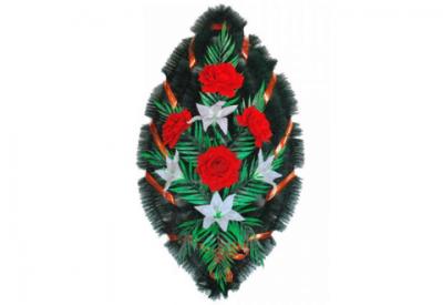 Ritualnii-venok-iz-iskusstvennih-cvetov-90-sm-№10
