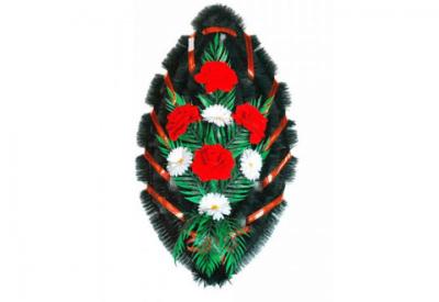 Ritualnii-venok-iz-iskusstvennih-cvetov-90-sm-№11