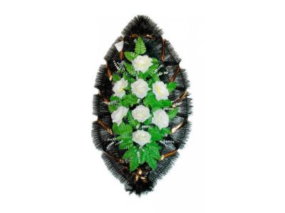 Ritualnii-venok-iz-iskusstvennih-cvetov-90-sm-standart-№18