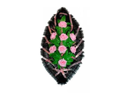 Ritualnii-venok-iz-iskusstvennih-cvetov-90-sm-standart-№21