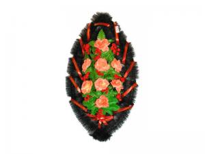 Ritualnii-venok-iz-iskusstvennih-cvetov-90-sm-standart-№22