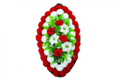 Ritualnii-venok-iz-iskusstvennih-cvetov-90-sm-standart-№6