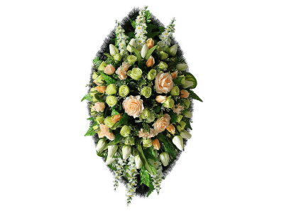 Ritualnii-venok-iz-iskusstvennih-cvetov-140-sm-Elit-№21