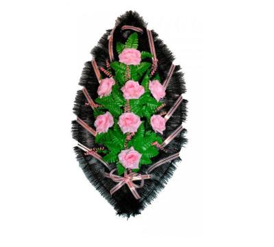 Ritualnii-venok-iz-iskusstvennih-cvetov-70-sm-№2