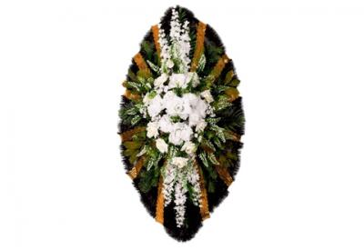Ritualnii-venok-iz-iskusstvennih-cvetov-120-sm-standart-№20