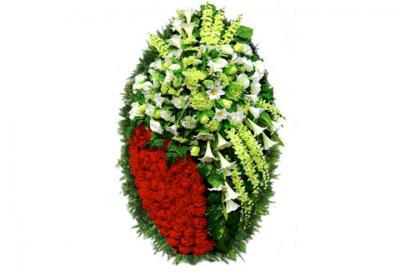 Ritualnii-venok-iz-iskusstvennih-cvetov-140-sm-Elit-№6