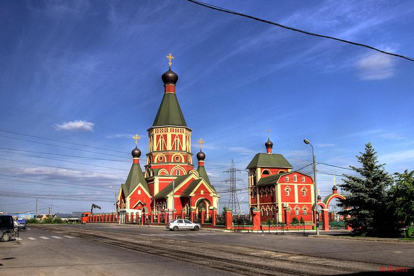 Церковь на хованском кладбище