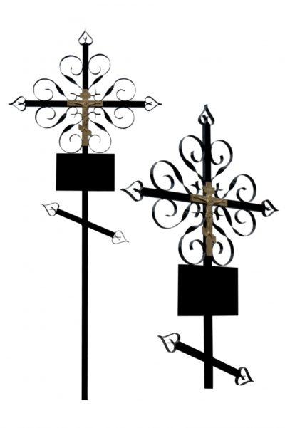 Металлический крест 003