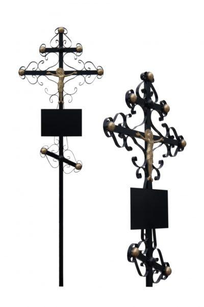 Металлический крест 004
